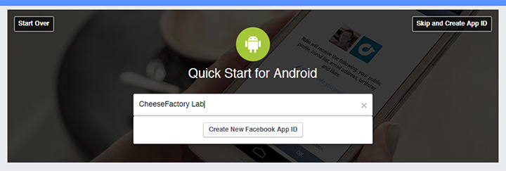 how to create an event on facebook app for android